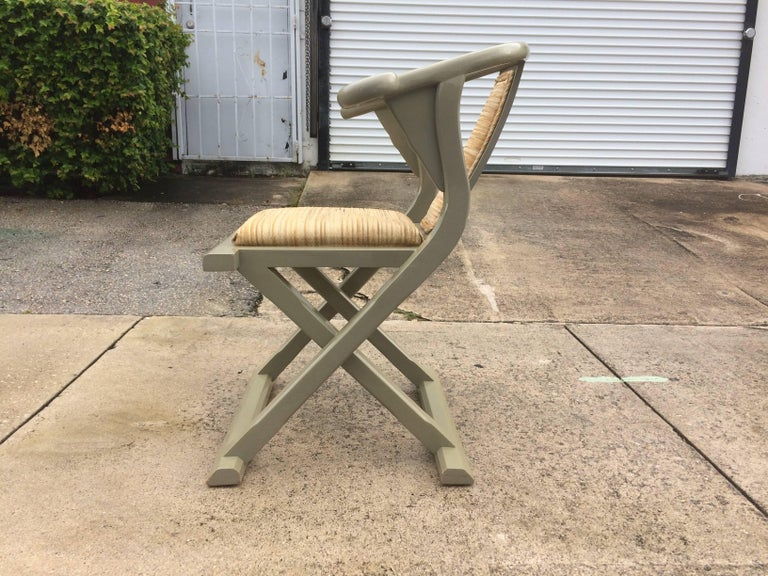 Mid-20th Century Decorative Side or Desk Chair For Sale