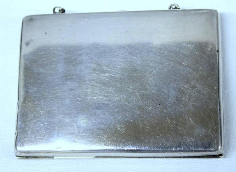 Antique American Hand Pierced and Engraved Sterling Card Case or Coin Purse In Good Condition For Sale In Charleston, SC