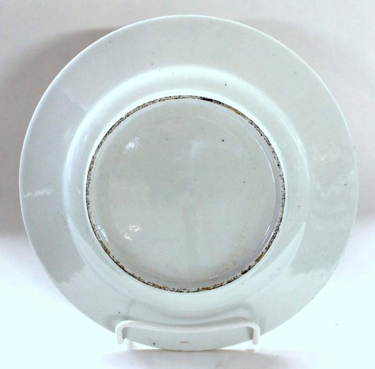 Set of Four Antique English Coalport Porcelain Luncheon or Dessert Plates For Sale 1