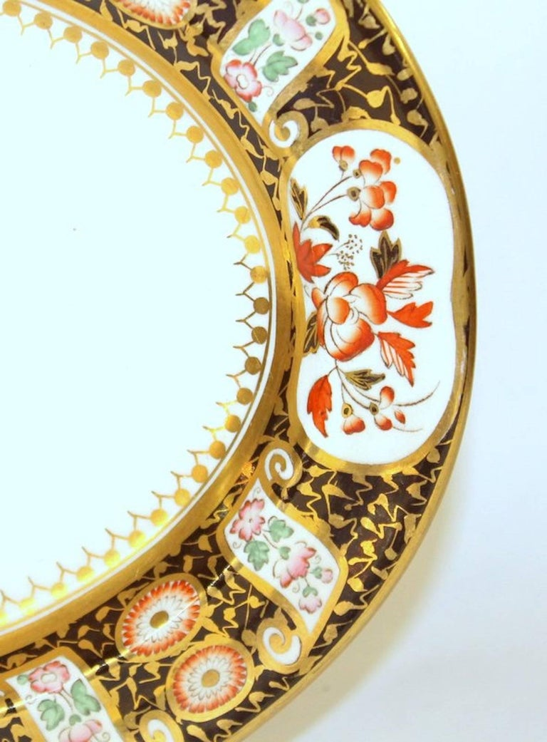 Hand-Painted Antique English Wedgwood Earthenware/Queensware