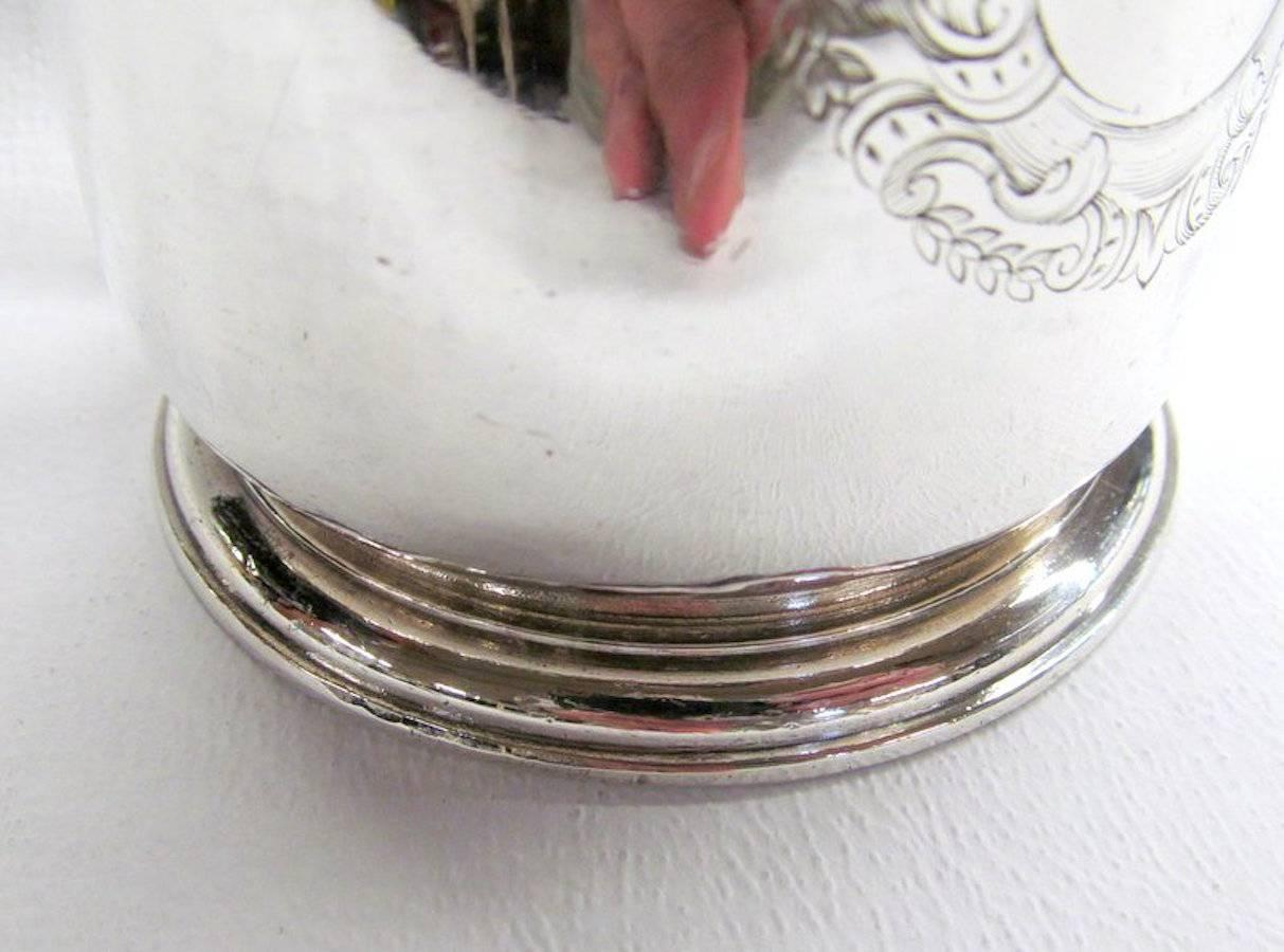 how to clean silver tankard