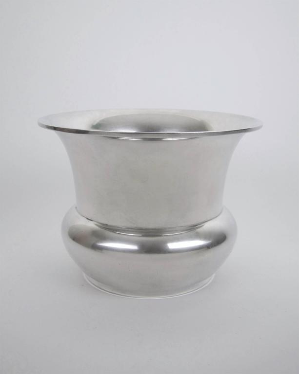 Marie Zimmermann American Sterling Silver Vase, circa 1920 For Sale 3
