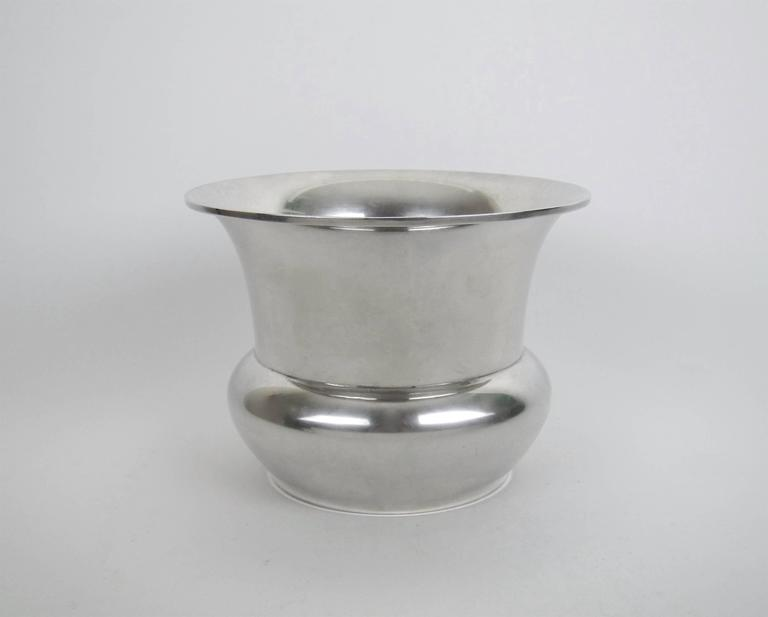 Marie Zimmermann American Sterling Silver Vase, circa 1920 For Sale 4