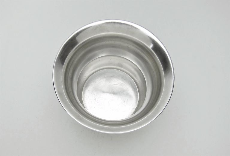 20th Century Marie Zimmermann American Sterling Silver Vase, circa 1920 For Sale