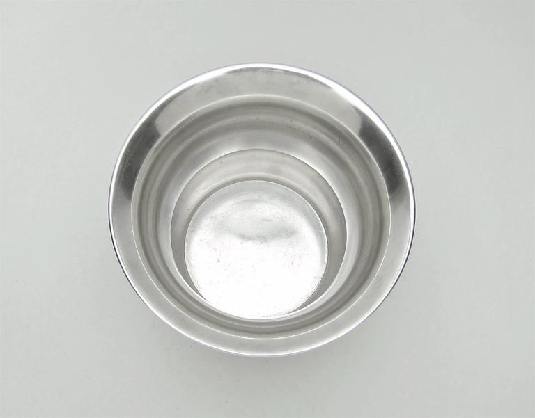 Marie Zimmermann American Sterling Silver Vase, circa 1920 For Sale 1