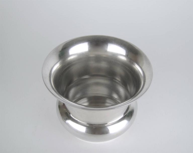 Marie Zimmermann American Sterling Silver Vase, circa 1920 In Good Condition For Sale In Los Angeles, CA