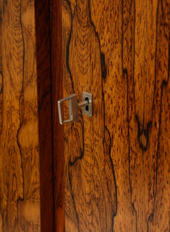 Monumental Danish Rosewood Sideboard Highboard Cabinet Midcentury, 1960s For Sale 1