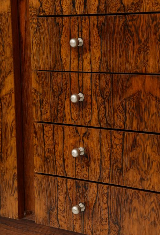 Mid-20th Century Monumental Danish Rosewood Sideboard Highboard Cabinet Midcentury, 1960s For Sale