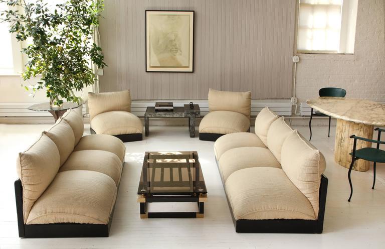 Carlo Bartoli Blob Sofa Lounge Chair Set  1970s  Italy  Mid Century 2. Carlo Bartoli Blob Sofa Lounge Chair Set  1970s  Italy  Mid