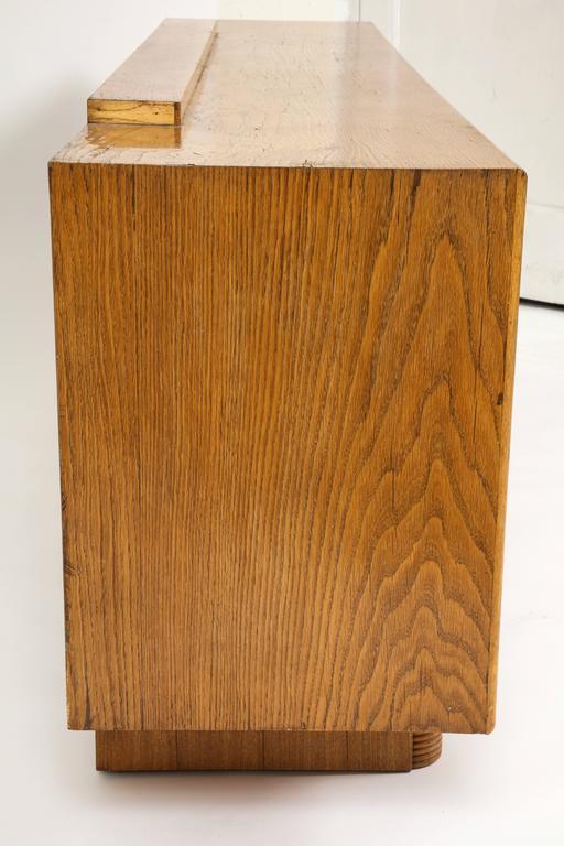 Pier Luigi Colli Oak Buffet Sideboard, Mid-Century Modern Italy, 1940s-1950s For Sale 2