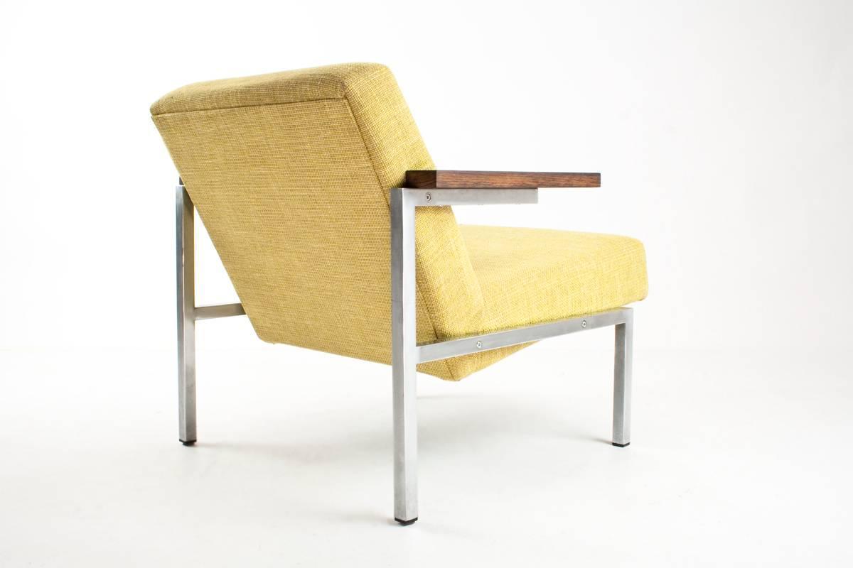 Industrial Martin Visser SZ63 Lounge Chair for t Spectrum NL 1960 196