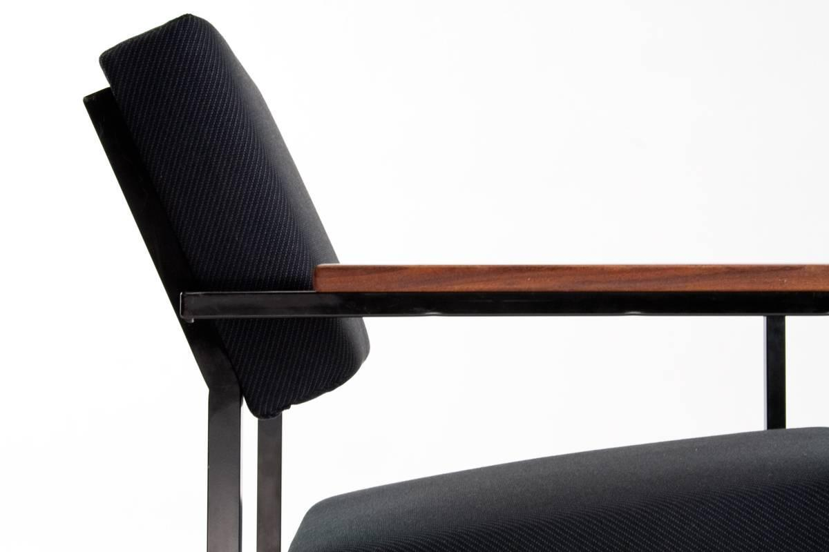 "1960s Dutch Industrial Design ""Gijs van der Sluis"" Lounge Chair Ne"
