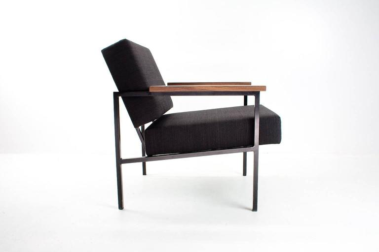 Fine 1950S Rare Dutch Industrial Modern Lounge Chair New Gmtry Best Dining Table And Chair Ideas Images Gmtryco