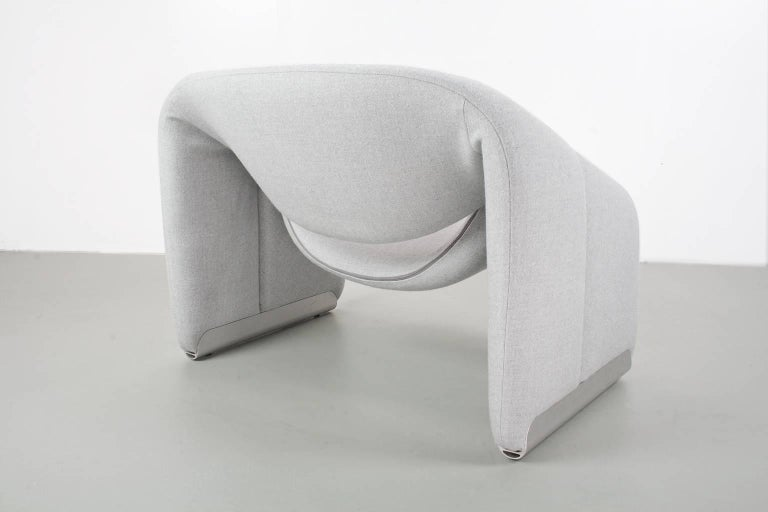 Modern Lounge Chair Groovy F598 by Pierre Paulin for Artifort 1972 Dutch Design Classic