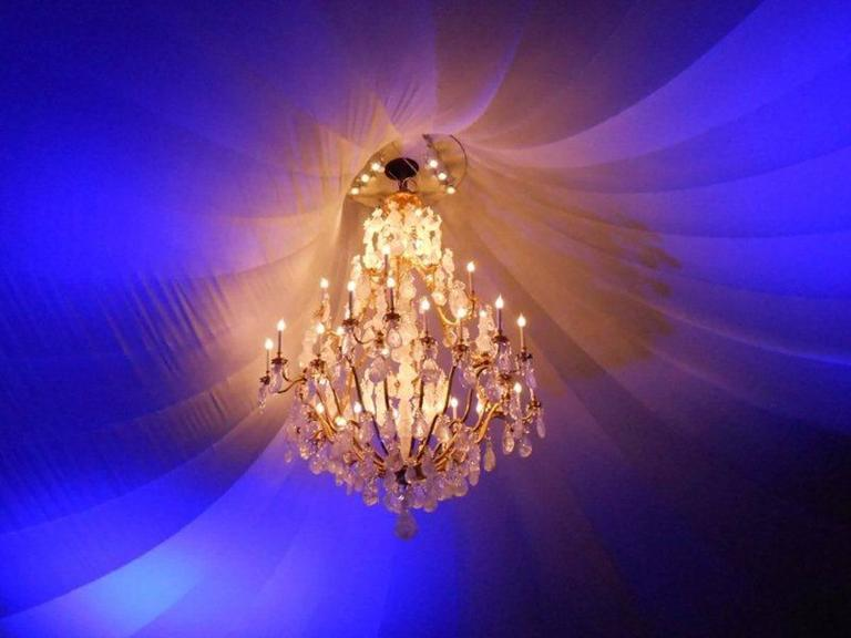 Biggest Pair Of Rock Crystal Lightings in the World By Alexandre VOSSION For Sale 3