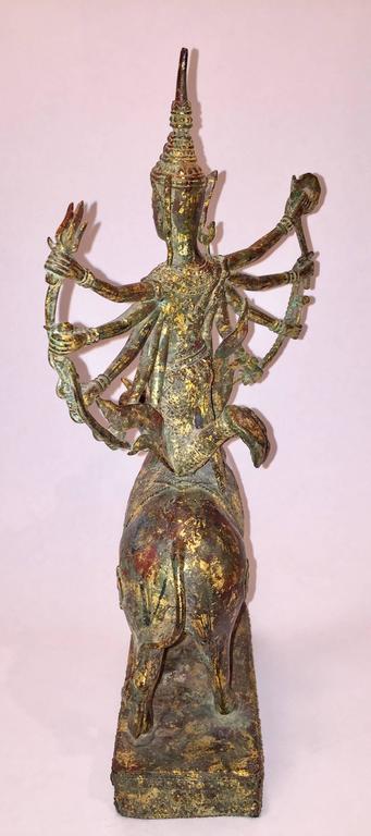 19th Century Thai Durga Goddess Statue For Sale At 1stdibs