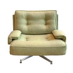 20th Century Swivel Kohinoor Lounge Armchair by Howard Keith