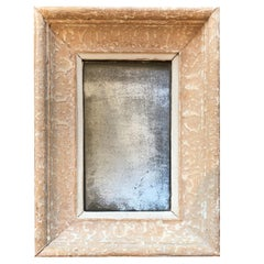 19th Century French Mirror with Mercury Plate