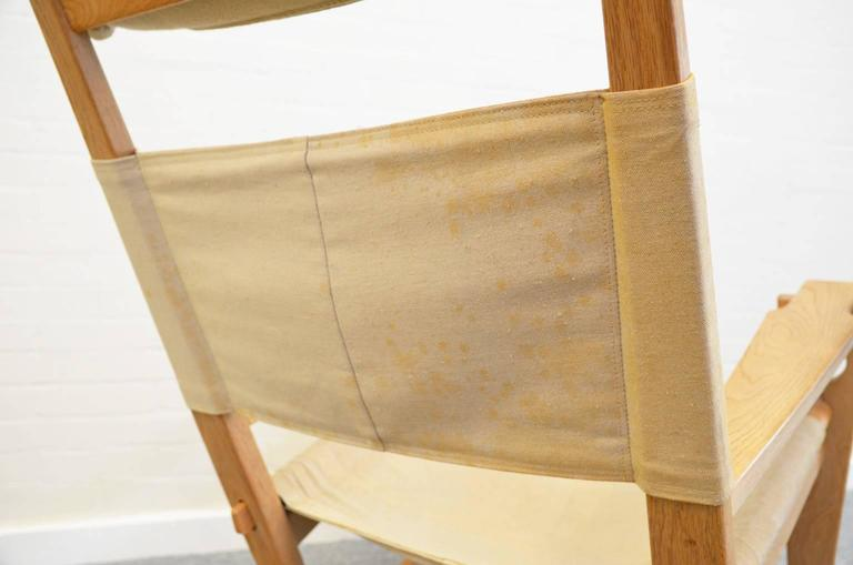 Keyhole Rocking Chair by Hans Wegner For Sale 2