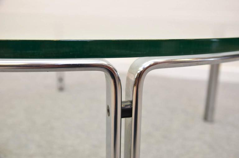 Chrome Coffee or Cocktail Table by Horst Brüning for Kill International, Germany For Sale