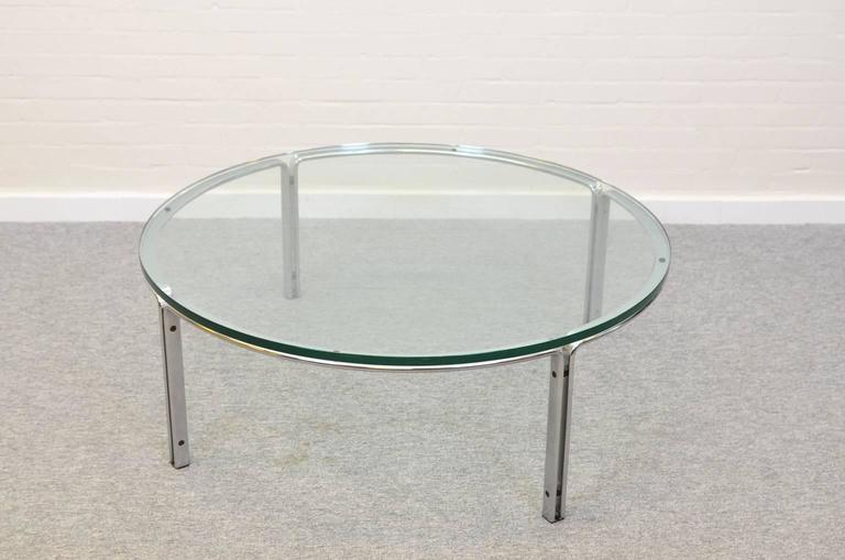 Coffee or Cocktail Table by Horst Brüning for Kill International, Germany In Good Condition For Sale In RHEEZERVEEN, Overijssel