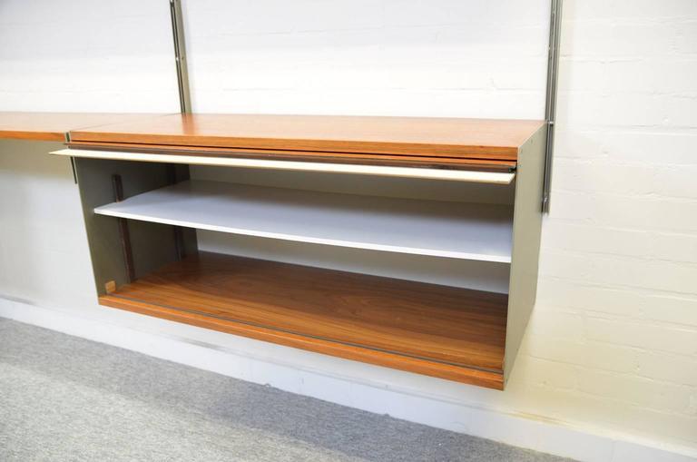 Dieter Rams 606 Universal Shelving System in Walnut Veneer for Vitsoe 1
