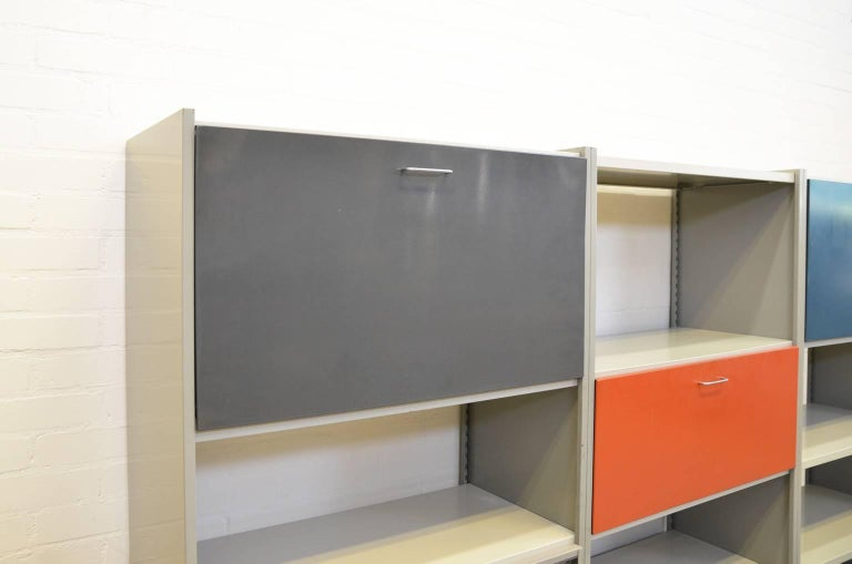 Modulair Wall System André Cordemeyer for Gispen In Good Condition For Sale In RHEEZERVEEN, Overijssel