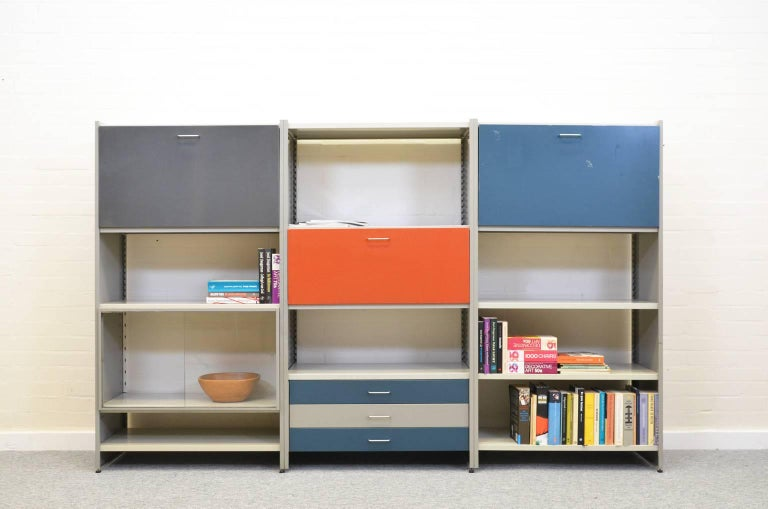 Mid-Century Modern Modulair Wall System André Cordemeyer for Gispen For Sale