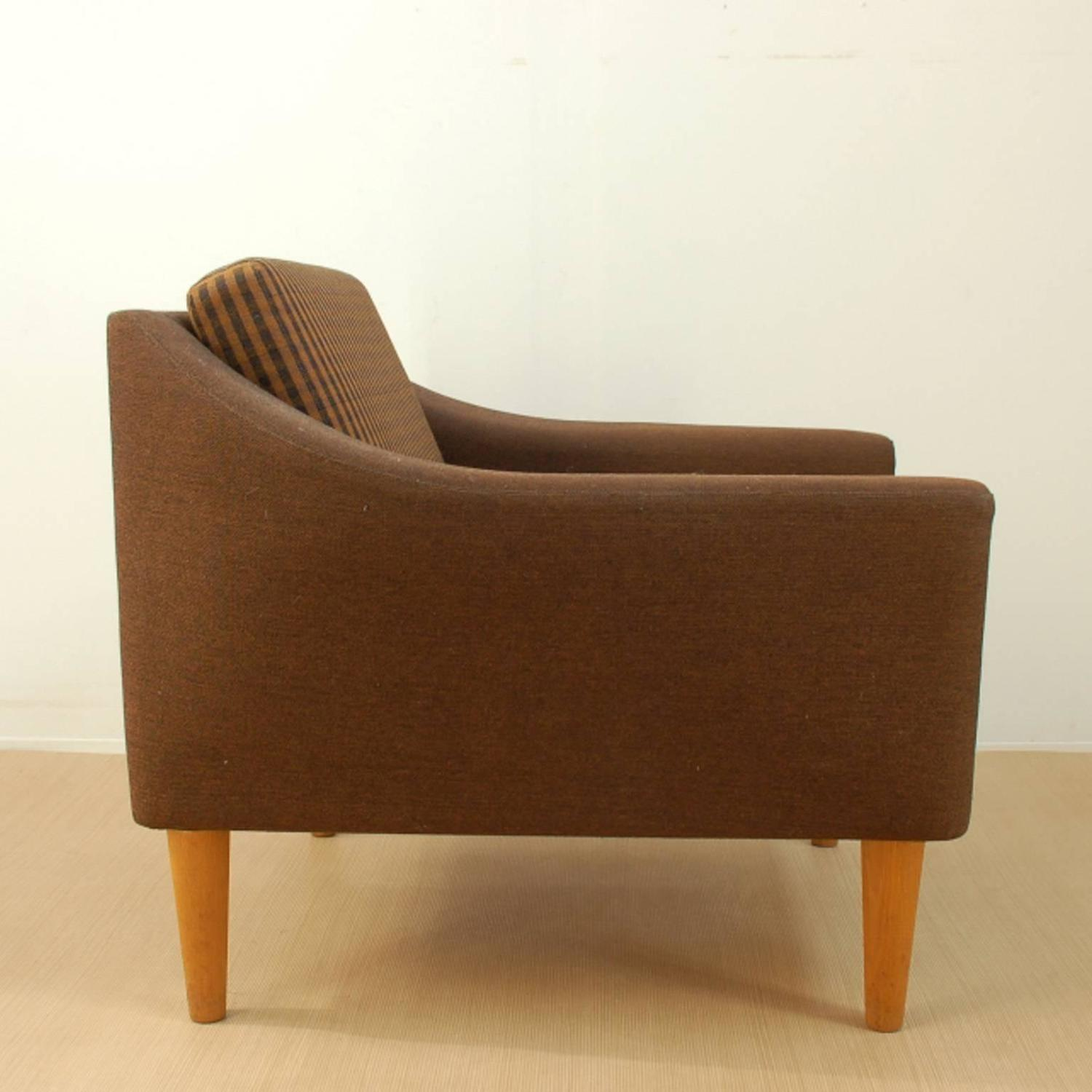 fortable Lounge Chair by DUX in the Style of Folke Ohlsson For Sale at 1st