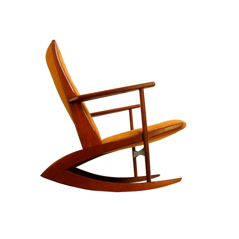 Boomerang Rocking Chair by Søren Georg Jensen for Kubus
