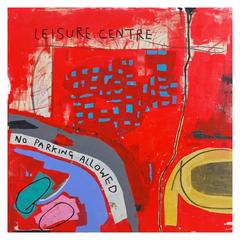 'Leisure Centre' Abstract Painting by Alan Fears