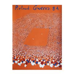 1984 Roland Garros French Open Tennis Poster by Gilles Aillaud