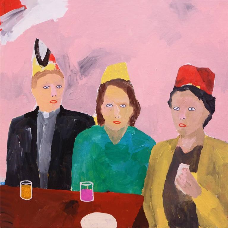 'The Last Sandwich' Portrait Painting by Alan Fears