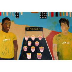 'When Life Gives You Lemons' Portrait Painting by Alan Fears
