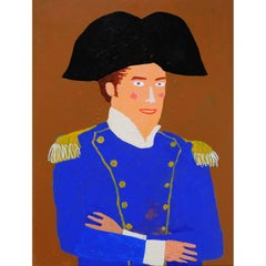 'Lord Nelson' Portrait Painting by Alan Fears Pop Art