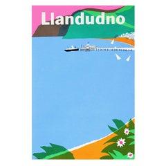 1960s British Transport Llandudno Travel Poster Wales by Harry Stevens