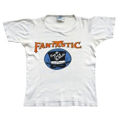 Vintage 1970s Elton John Captain Fantastic Eagles Beach Boys Band T- Shirt