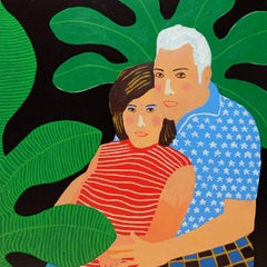 'Hopelessly Devoted' Portrait Painting by Alan Fears Pop Art