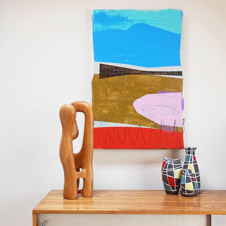 Acrylic and oil on canvas by Alan Fears, 2015.