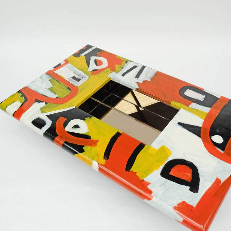 Studio Coffee Table a Bespoke Piece of Art Furniture Tribal Design For Sale 2