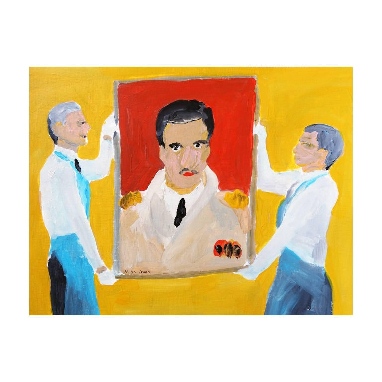 'The Masterpiece' Painting by Alan Fears Acrylic on Paper