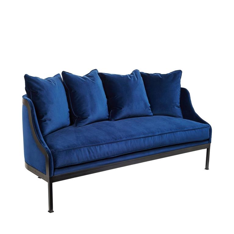 Metal frame sofa for sale at 1stdibs Steel frame sofa