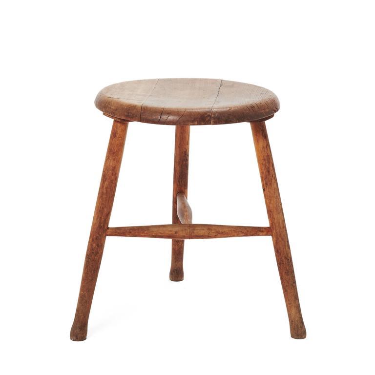 Vintage Wooden Stool For Sale At 1stdibs