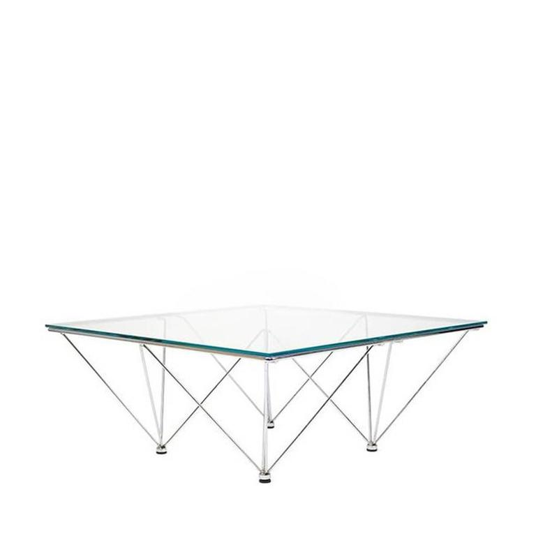 Paolo Piva Style Coffee Table In Good Condition For Sale In Los Angeles, CA
