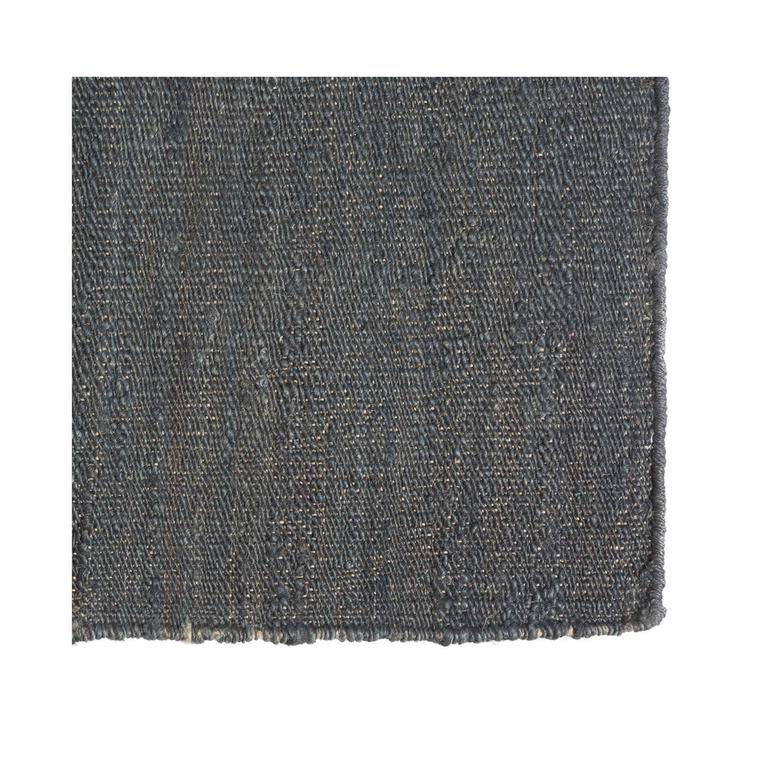 Charcoal Jute Dhurrie Rug For Sale At 1stdibs
