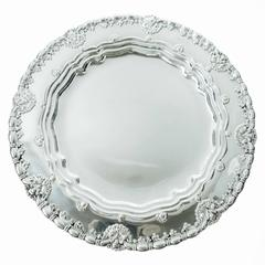 Tiffany & Co. Sterling Silver Plates Set of Eight, circa 1905