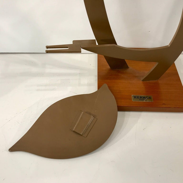 Vintage Hermes Display Stand For Sale 3