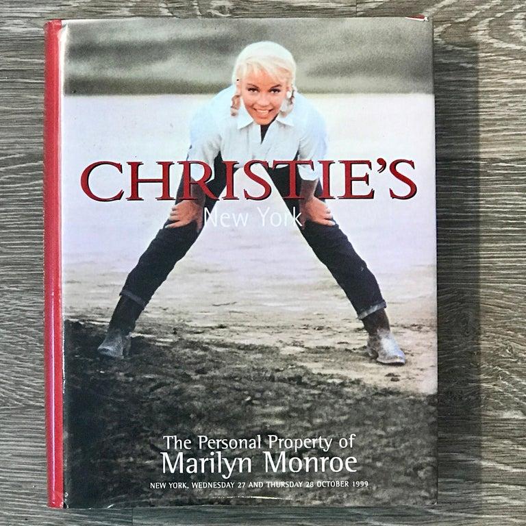 Marilyn Monroe's Pot de Chambre, Chrisites, 1999 For Sale 10
