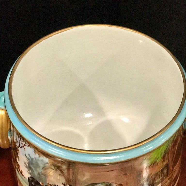 Exquisite Mintons Barnyard Motif Cachepot For Sale 10