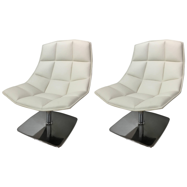 Jehs + Laub Pedestal Base Lounge Chair.